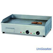 Griddle Grill Machine Warmer Electricsmall Stainless Commercial Restaurant