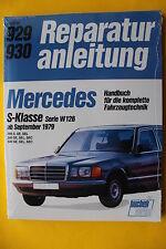 Mercedes Benz S-Klasse W126 280 380 500 S SE SEL SEC ab 1976 Reparaturanleitung