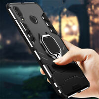 For Xiaomi Redmi Note 7 8 Pro 8T 9S 4X Magnetic Car Ring Holder Armor Case Cover