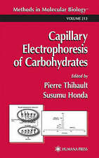 Capillary Electrophoresis of Carbohydrates (Meth, , New