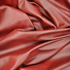 Red Leather Hide Upholstery Whole Full Cow Hide 50 Square Feet Stunning