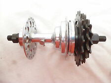 VINTAGE RACER - BAYLISS WILEY 3 SPEED FREE WHEEL HUB 40 spoke New Old Stock 1950