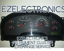 2006 Ford F150 Pickup Instrument Cluster EXCHANGE F150 XLT 6L34-10849-AD AND AE