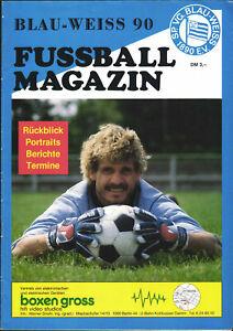 II. BL 85/86 SpVgg Blau-Weiss 90 - Fussball Magazin - Rückblick, Portraits, ...