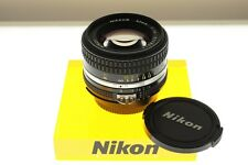 Nikon Nikkor 50mm f/1.4 Ai-s fast standard lens. EXC++ condition. Classic!