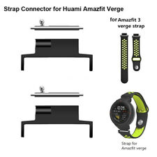 2Pairs Band Adapter Bracelet Strap Connector for Huami Amazfit Verge Smart Watch