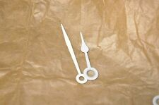 Chelsea Ships Clock white hands 12E NOS 1 pair 6 inch dial