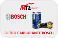 FILTRO CARBURANTE BOSCH BMW SERIE 1 E81 E87 DAL 2003 AL 2012 COD 0450906457