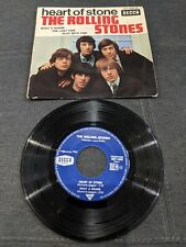 Disque 45 tours The Rolling Stones - Heart Of Stone - 457.066 DECCA