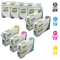 LD Reman Ink Cartridge for Epson T069 Set of 5: T069120 T069220 T069320 T069420