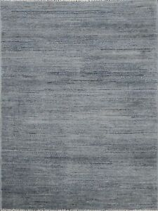 Distressed Striped Gabbeh Kashkoli Oriental Area Rug Wool Handmade 3'x3' Square