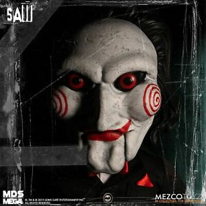 """Living Dead Dolls  Mega Scale """"SAW """" Billy 15"""" With Sound .Boxes Not Perfect."""