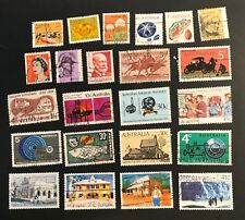 Australia postage stamps lot of 23 old