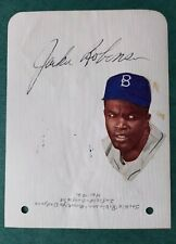 Jackie Robinson Autograph Signed Album Page Brooklyn Dodgers PSA Quick Opinion