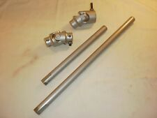 """Borgeson Steering Kit 2 Joints 1 10"""" & 1 16"""" Shaft Both Double D And Smooth"""