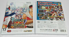 Tatsunoko vs. capcom cross generation of heroes Wii japon vs 2D flambant neuf scellé