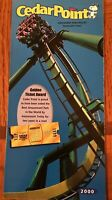 2000 Cedar Point Amusement Park Brochure