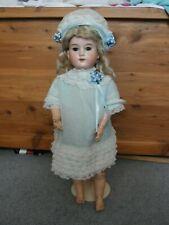 Antique Armand Marseille A & M 390 Bisque Head Doll