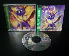 Spyro the Dragon (Sony PlayStation 1, 1998) PS1 Complete