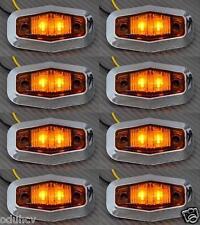 8x LED LATERAL NARANJA Luces de marcaje CAMIÓN FURGONETA BUS RENAULT IVECO