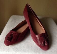 LANDS' END Shoes Size: 10 NEW Greer Point Toe Ballet Flat Замшевыe туфли