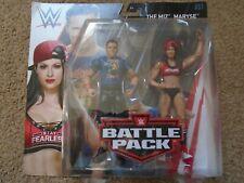 WWE Mattel The Miz & Maryse Battle Pack Series 51 Figures - New Boxed