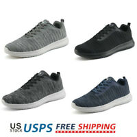 Men's Mesh Lightweight Breathable Sneakers Sports Running Walking Shoes