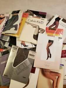Vintage To Modern Pantyhose New in Package Variety Sizes Colors Brands MIXED LOT