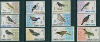 Samoa 1967 SG280-289b Birds set MNH