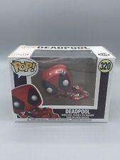 "Funko Pop! Marvel: Deadpool - Laying Down ""Sexy"" #320 Vinyl Figure Not Mint"