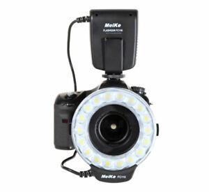 LED Makroblitz Meike FC-110 Ringblitz Ringleuchte für Canon DSLR