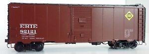 ERIE Postwar AAR HO Boxcar Assembled Weathered Speedwitch Media