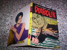 DIABOLIK ANNO X ORIGINALE N.3 DEL 1971 OTTIMO TIPO KRIMINAL SATANIK KILLING