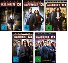 16 DVDs * WAREHOUSE 13 ~  STAFFEL / SEASON 1 - 5 DIE KOMPLETTE SERIE # NEU OVP +
