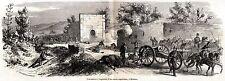 Battaglia di Milazzo: Presa di un Cannone Borbonico. Spedizione dei Mille. 1860