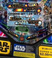 """*NEW """"STERN' OR """"DATA EAST"""" OR """"WILLIAMS""""  STAR WARS PINBALL Flipper Armour"""
