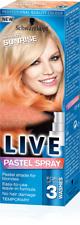 Schwarzkopf Live Color Pastello Spray Albicocca Sunrise 125ml/temporaneo/capelli/Colore/Nuovo