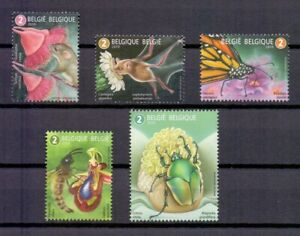 BELGIUM 2019 insects MNH** N201912