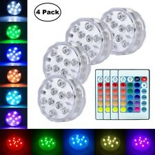 4X Remote Control Color Colored LED Light Boundary Style Waterproof EFX Accent A