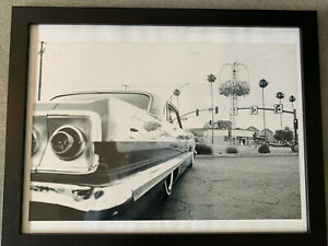 Framed LA Car Photo 64