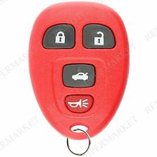 Replacement for Buick Allure Lacrosse Chevy Cobalt Malibu Remote Car Key 4b Red