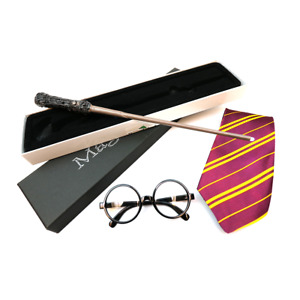 Wizard Unisex Costume World Book Day Harry Fancy Dress Tie Wand Glasses Outfit