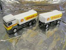 "** Herpa 156097 Mercedes Benz Axor del tanque de combustible listo ""Shell"" 1:87 HO Scale"