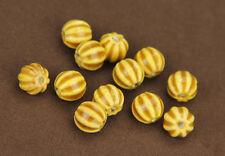 5pcs Charm Mixing Shape Ceramic Porcelain Loose Spacer Big Hole Beads Jewelry