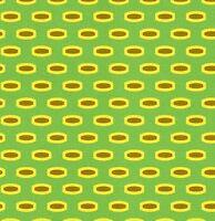 Heather Bailey Bijoux Mod Beads in Green Fabric 1yd