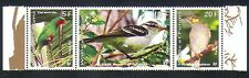 Wallis & Futuna 2011 Birds/Nature/Wildlife/Parrots/Conservation 3v stp (n33034)