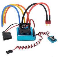 120A ESC Sensored Brushless Speed Controller for 1/8 1/10 Car Truck Hobby RC646