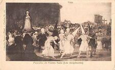 BR71438 procesion de vienes santo los disciplinantes goya postcard painting art