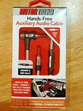 Motor Trend Hands Free Auxiliary Audio Cable. New in box. Lowest on eBay.