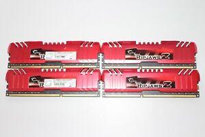 G.skill Ripjaws Memory (4x4Gb Modules 16 GB), PC3-14900 (DDR3-1866), DDR3 SDRAM